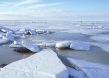 Camminata del ghiaccio Fotografie Stock