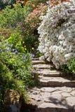 Camminata del giardino Immagine Stock Libera da Diritti