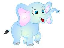 Camminata dell'elefante del fumetto illustrazione vettoriale