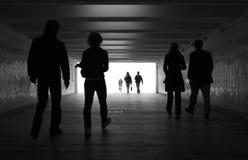 Camminata della gente Fotografia Stock Libera da Diritti