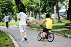 Camminata della gente Fotografie Stock