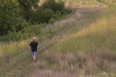 Camminata della natura Fotografie Stock Libere da Diritti