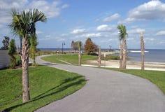 Camminata della riva del lago fotografia stock libera da diritti