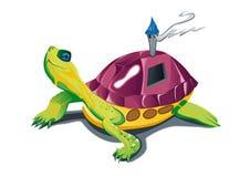 Camminata della tartaruga Immagine Stock