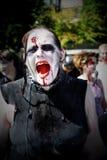 Camminata delle zombie - Vancouver 2008 Fotografia Stock Libera da Diritti