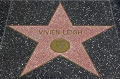Camminata di Hollywood di fama - Vivien Leigh Fotografie Stock Libere da Diritti