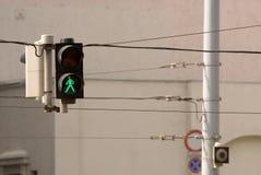 camminata di traffico Fotografia Stock