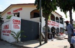 Camminata mombasa Fotografia Stock Libera da Diritti