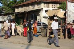 Camminata mombasa Immagini Stock Libere da Diritti
