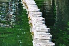 Camminata su acqua Immagini Stock