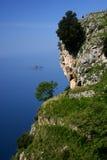 Camminata sul litorale di Amalfi Fotografia Stock