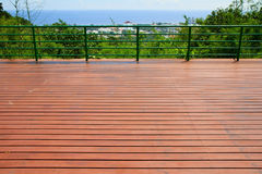 Camminate sceniche di acciaio Immagine Stock