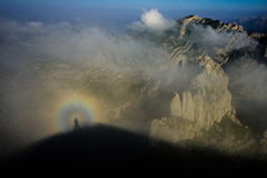 Camminatore dell'arcobaleno Fotografie Stock