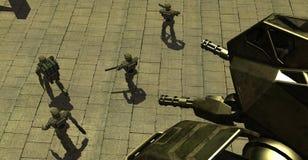 Camminatore Mech Fotografia Stock Libera da Diritti
