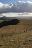 Camminatori della collina. Fotografie Stock Libere da Diritti