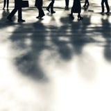 Camminatori della via Immagine Stock Libera da Diritti