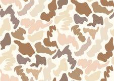 Cammuffi il modello senza cuciture in tonalità di beige, grige, l'abbronzatura, il marrone, colori beige Illustrazione di Stock