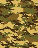 Cammuffi il reticolo Carta da parati senza cuciture dell'esercito illustrazione vettoriale