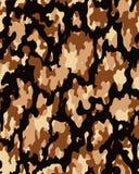 Cammuffi il reticolo Carta da parati senza cuciture dell'esercito illustrazione di stock