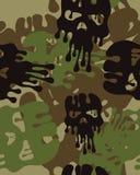 Cammuffi il reticolo Carta da parati senza cuciture dell'esercito royalty illustrazione gratis