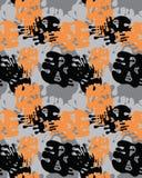 Cammuffi il reticolo Modello senza cuciture di wallpaperCamouflage dell'esercito Carta da parati senza cuciture dell'esercito I m royalty illustrazione gratis