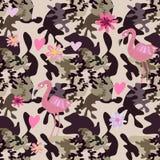 Camo bezszwowy pattern16 ilustracja wektor