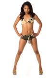 Camo Bikini Stock Images