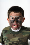 Camo Boy Stock Images