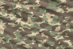 Camo camouflage material Royalty Free Stock Photo