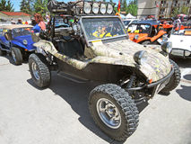 Camo Dune Buggy Royalty Free Stock Photos