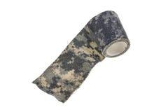 Camo military textures tape Royalty Free Stock Photo