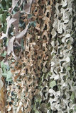 Camo net. Camouflage net for hidding in nature Royalty Free Stock Images