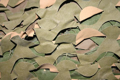 Camo Netting Royalty Free Stock Photo