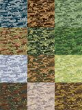 Camo pattern Stock Photography