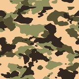 Camo sans couture de jungle Images libres de droits