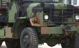 Camo truck. A tough looking camo truck Royalty Free Stock Photo