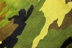 Camo verde Fotografia Stock Libera da Diritti