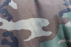 Camoflauge background. Camoflauge fabric uniform background pattern Royalty Free Stock Photos