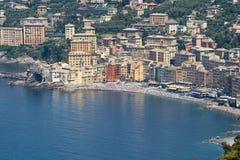 camogli意大利 免版税库存图片