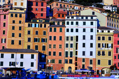 camogli热那亚意大利 免版税库存图片