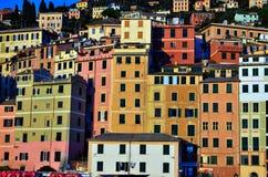 camogli热那亚意大利 免版税库存照片