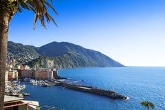 Camogli,意大利 免版税图库摄影