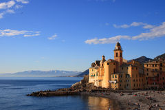 Camogli,意大利 免版税库存图片