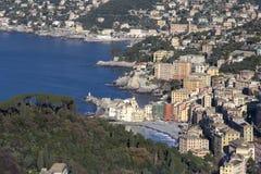Camogli. Ιταλικό Riviera στοκ φωτογραφία με δικαίωμα ελεύθερης χρήσης