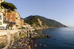 camogli Ιταλία Στοκ Εικόνα