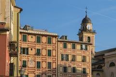 Camogli Ιταλία στοκ φωτογραφίες με δικαίωμα ελεύθερης χρήσης