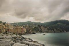 camogli Ιταλία Στοκ Φωτογραφίες