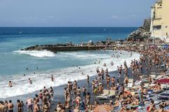 Camogli beach Royalty Free Stock Image