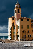 Camogli Church Stock Images