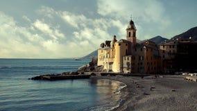 Camogli, the church stock video